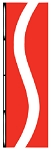 3' x 10' Vertical Ribbon Flags